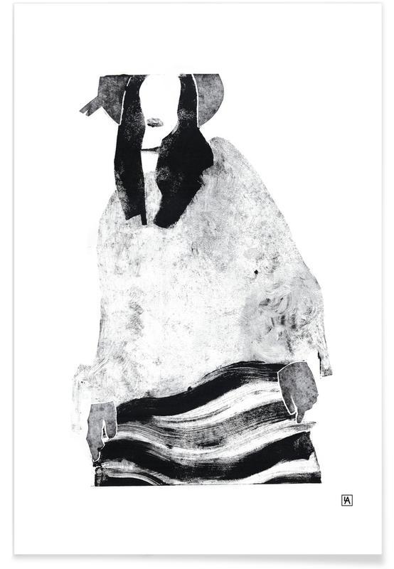 Monotype 6 -Poster