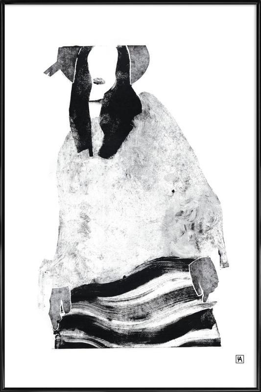 Monotype 6 Framed Poster
