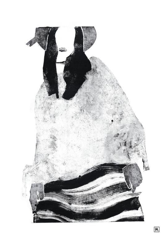 Monotype 6 Aluminium Print