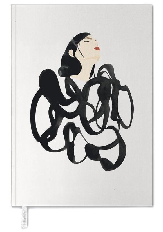 Noir & blanc, Illustrations de mode, Ink Woman agenda