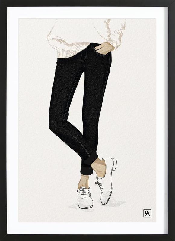 BB Shoes Framed Print