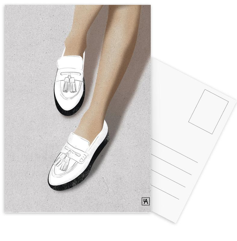 Modeillustration, Legs & Shoes 2 -Postkartenset