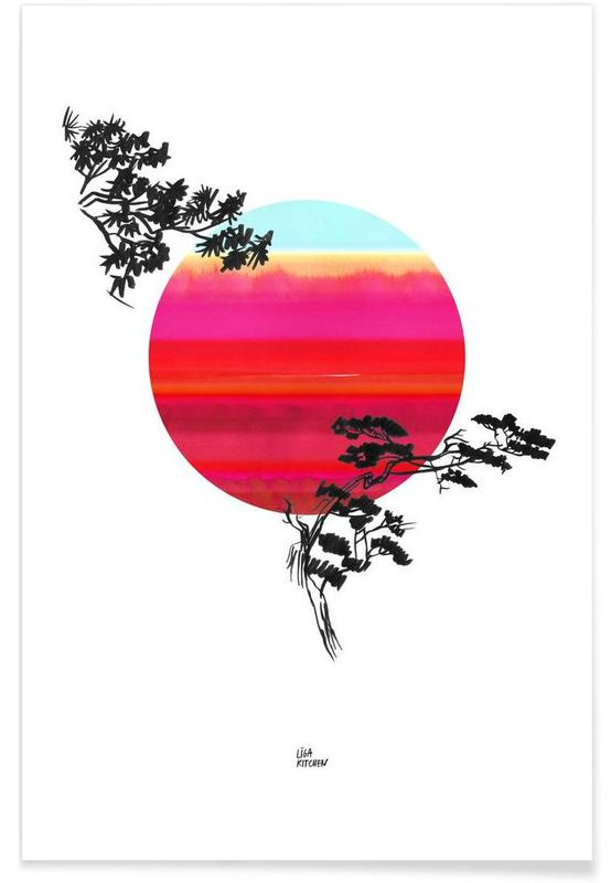 Japanese Sun Poster