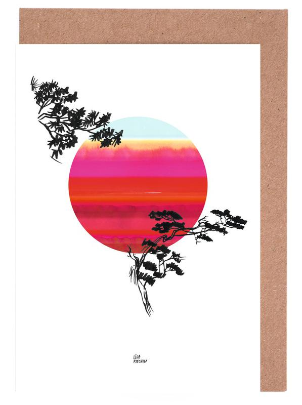 Japanese Sun Greeting Card Set