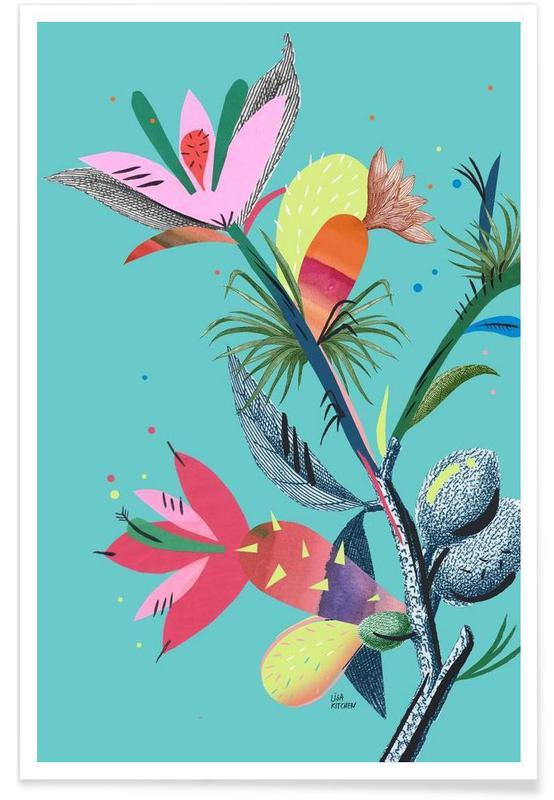 Botanica Branch 1 -Poster
