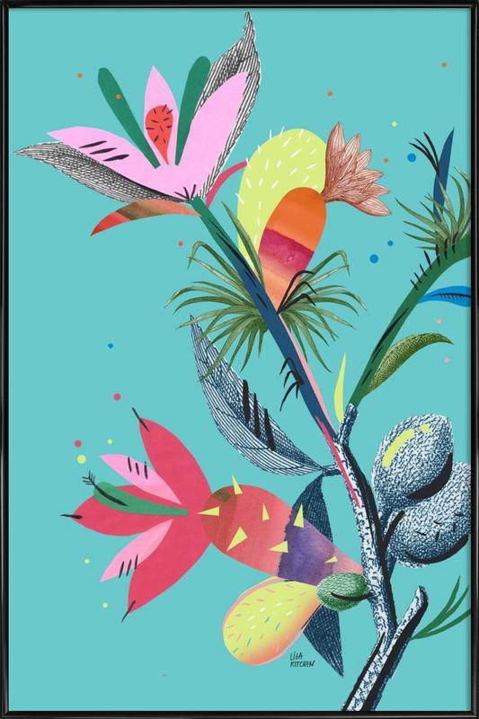 Botanica Branch 1 -Bild mit Kunststoffrahmen