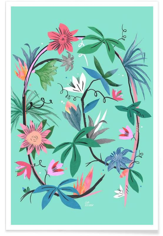 Botanica Passionflower 1 -Poster
