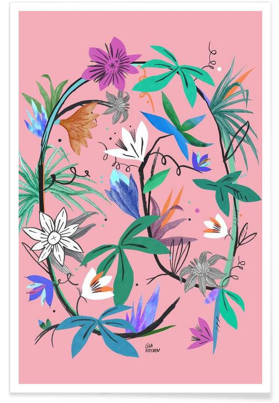 Botanica Passionflower 3 -Poster
