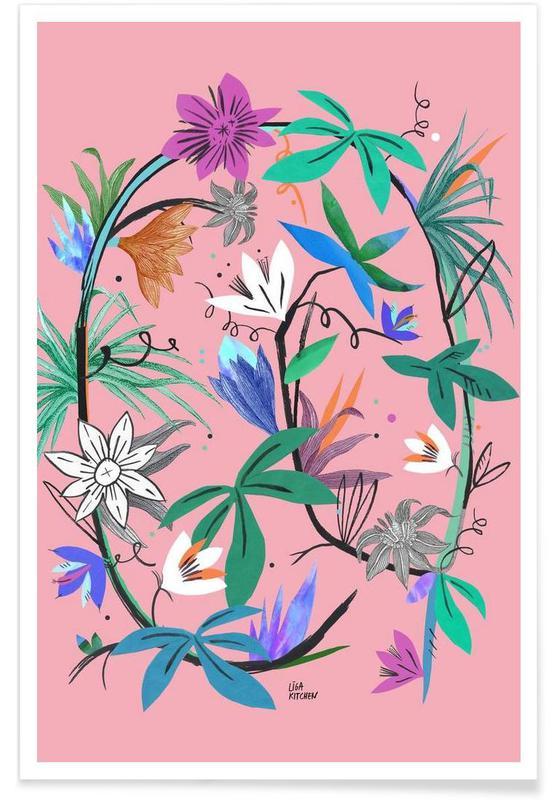 Botanica Passionflower 3 Poster