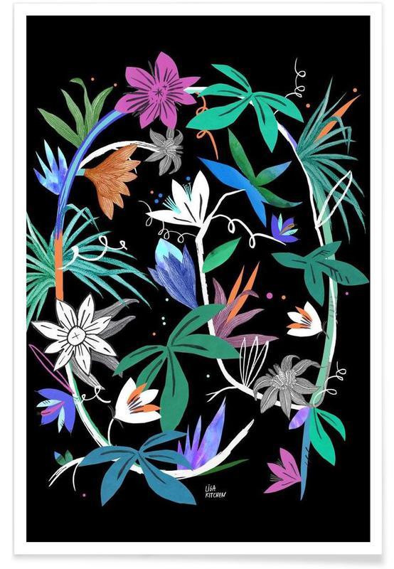 Botanica Passionflower 4 -Poster