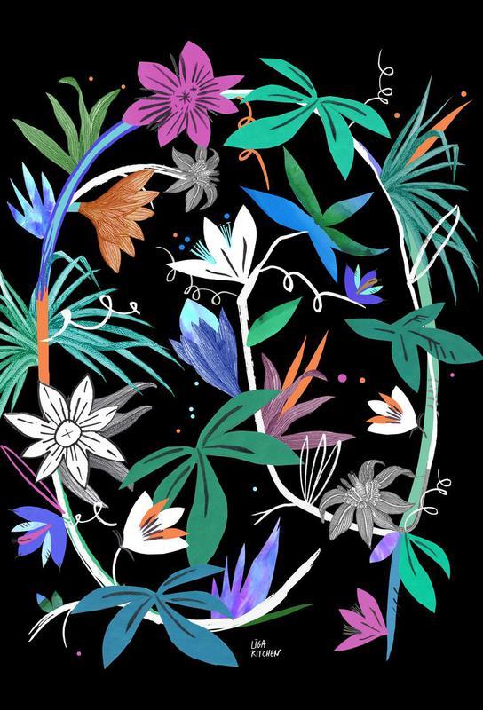 Botanica Passionflower 4 Impression sur alu-Dibond