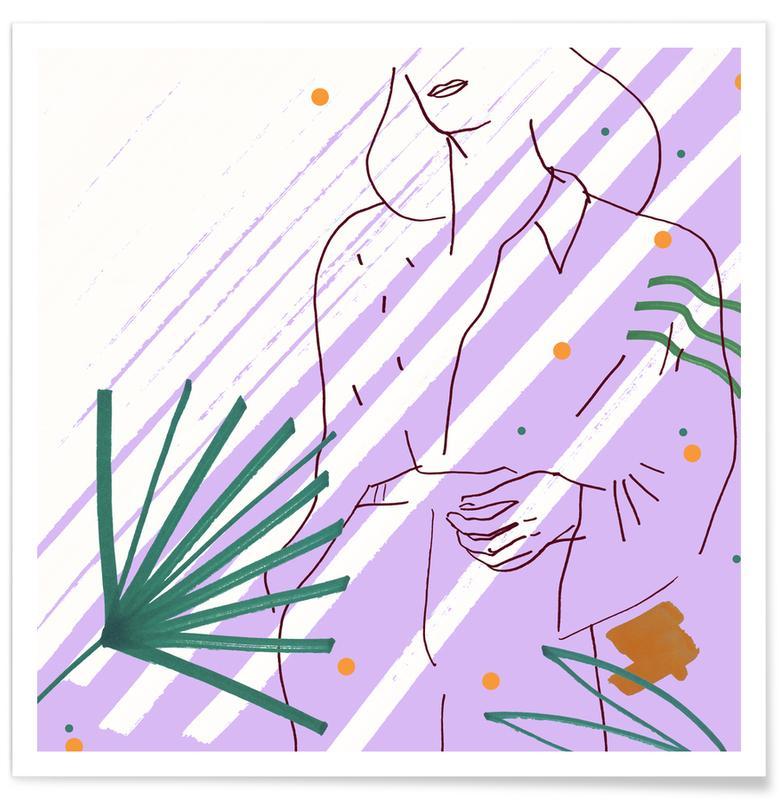 Purple -Poster