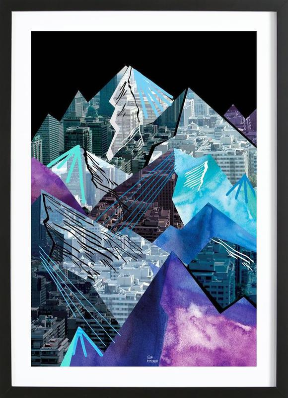 Lost Cities Mountains Framed Print