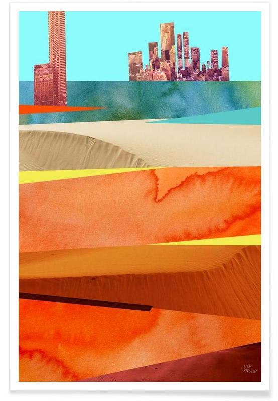 Lost Cities Desert Poster