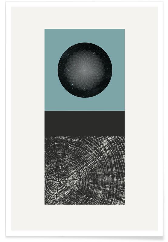 Paysages abstraits, Texture Landscape 5 affiche