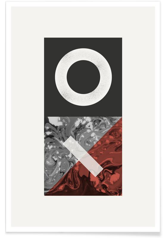 , Texture Landscape 3 poster