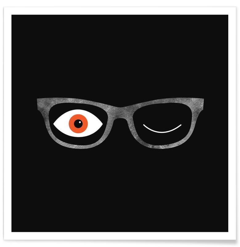 Détails corporels, Specs affiche