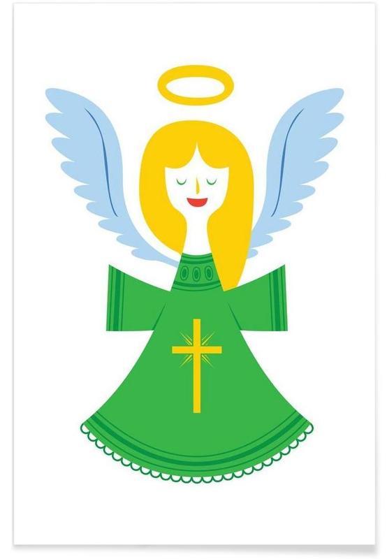 Noël, Angel affiche