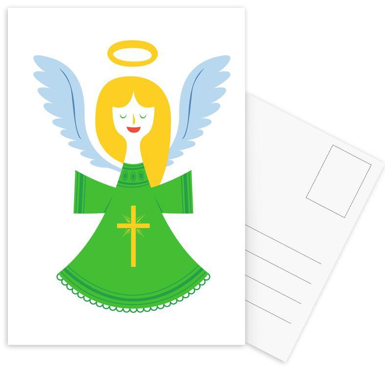 Angel -Postkartenset