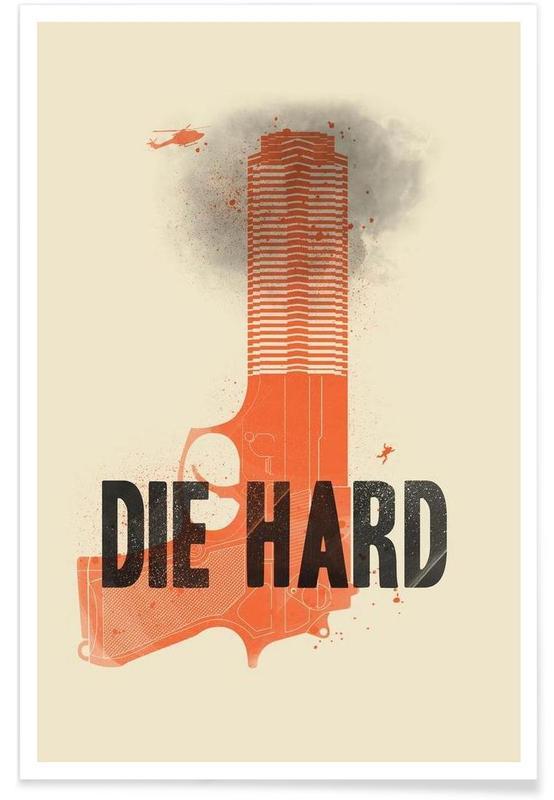Films, Die hard poster