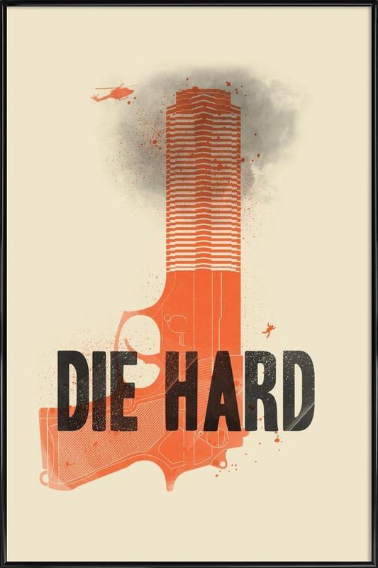 Die hard Framed Poster