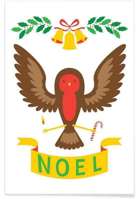 Noël, Robin affiche