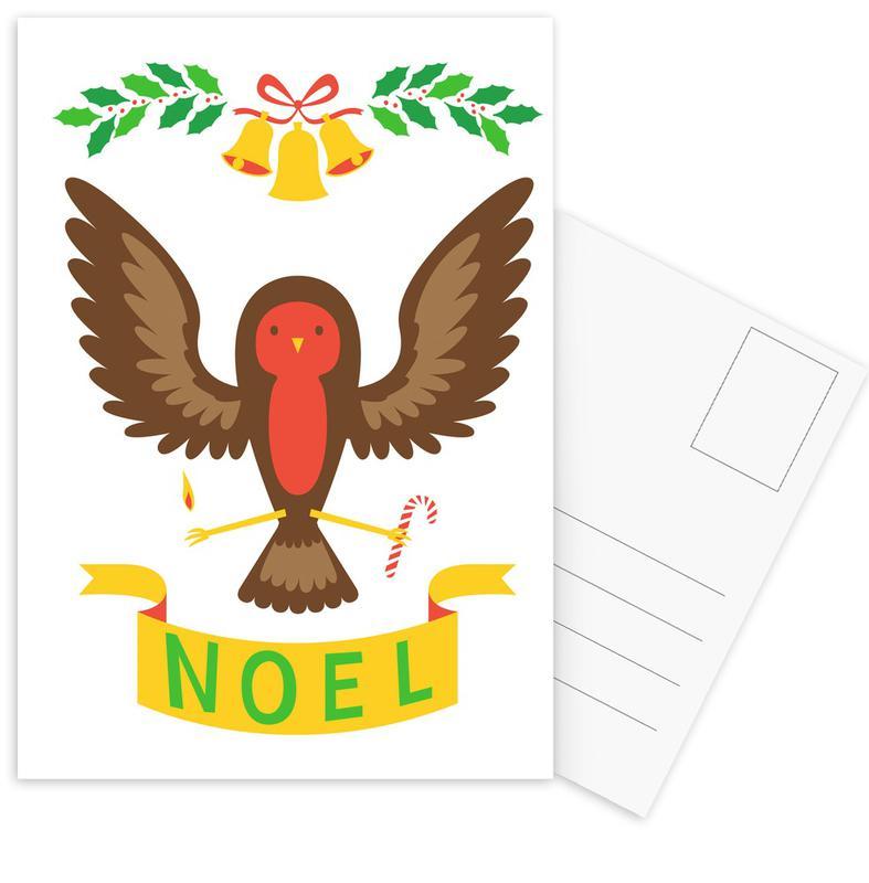 Robin Postcard Set