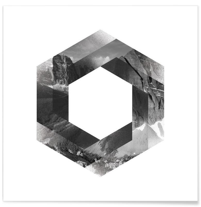 Schwarz & Weiß, Landscape -Poster