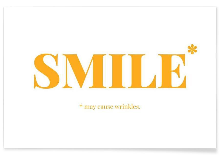 Funny, Smile Poster