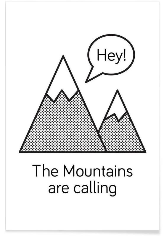 Mountains affiche