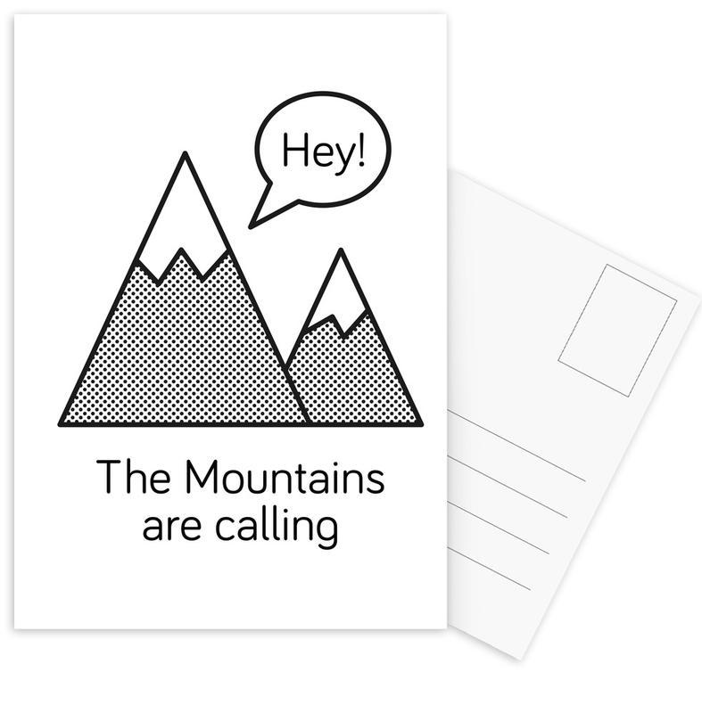Mountains cartes postales