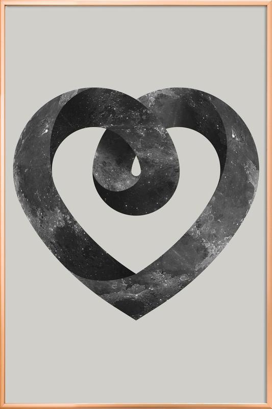 Heart Poster in Aluminium Frame