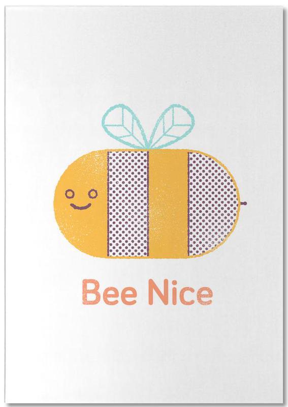 Abeilles, Citations et slogans, Bee Nice bloc-notes