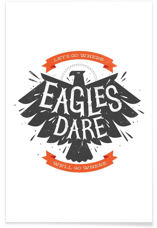 Zitate & Slogans, Adler, Eagles -Poster