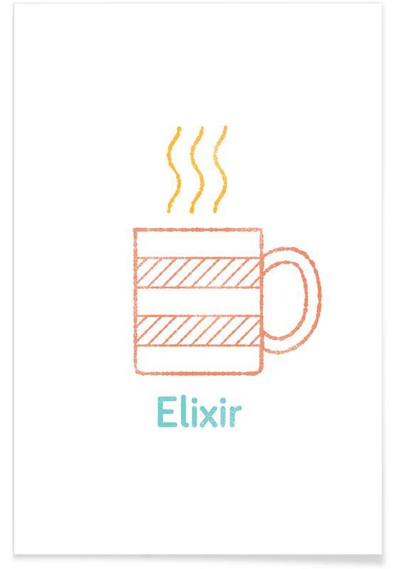 Kaffee, Elixir -Poster