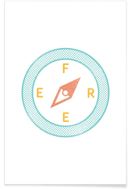 Motivation, Free -Poster