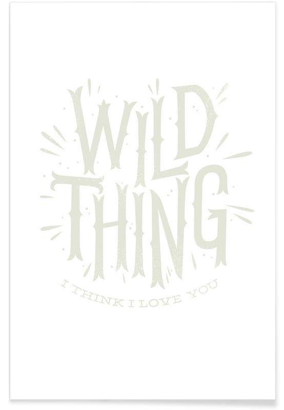 Songtexte, Wild Thing -Poster