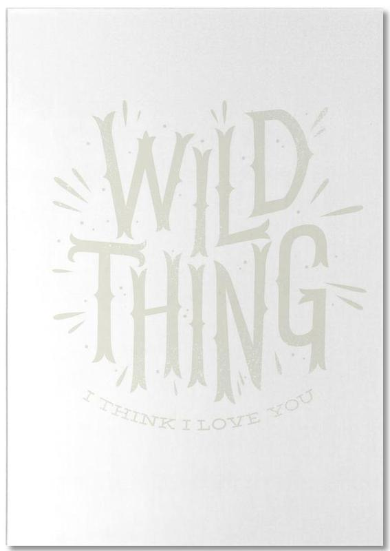 Wild Thing Notepad