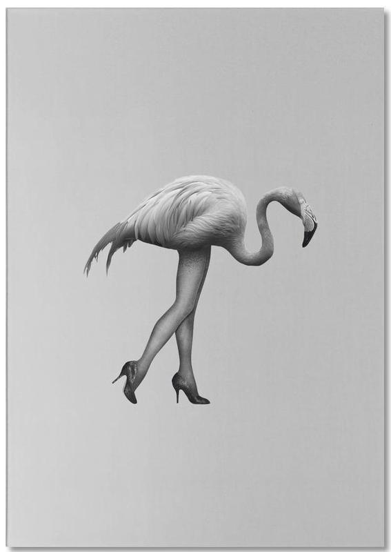 Flamingo-go Girl Notepad