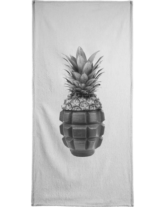 Ananas, Grenapple -Strandtuch