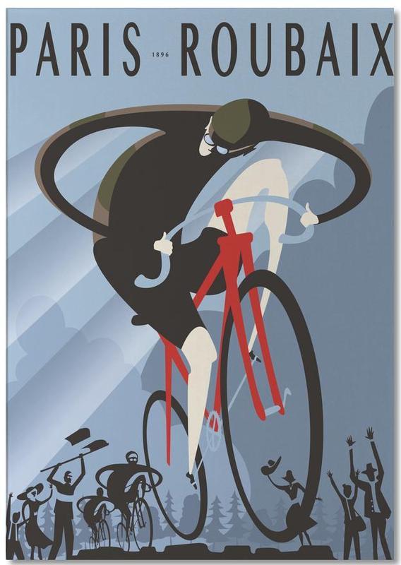 Cyclisme, Rétro, Roubaix bloc-notes