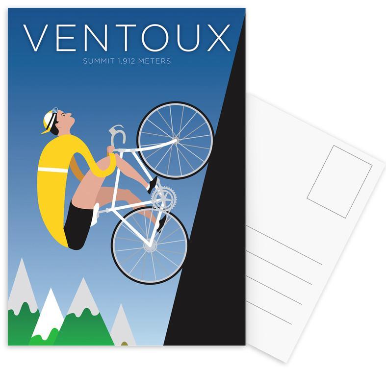 Ventoux -Postkartenset