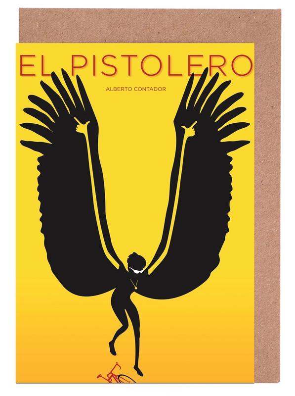 Contador -Grußkarten-Set