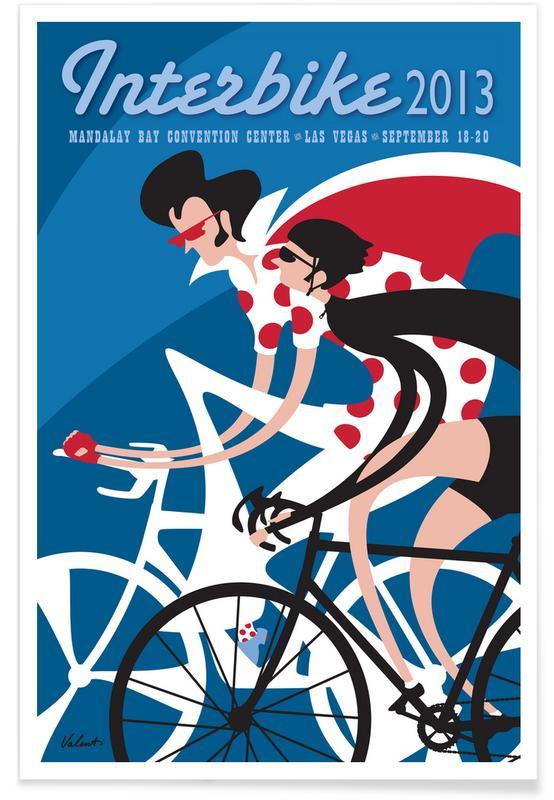 Las Vegas, Wielersport, Elvis, Retro, Elvis poster