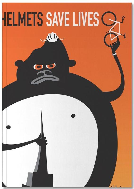 Vélos, Humour, Gorilla Notebook