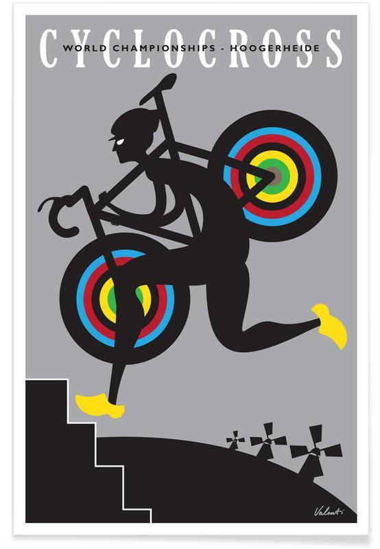 Wielersport, Retro, Hoogerheide poster