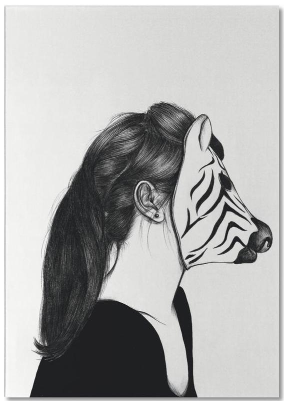 Peculiar Zebra Notepad