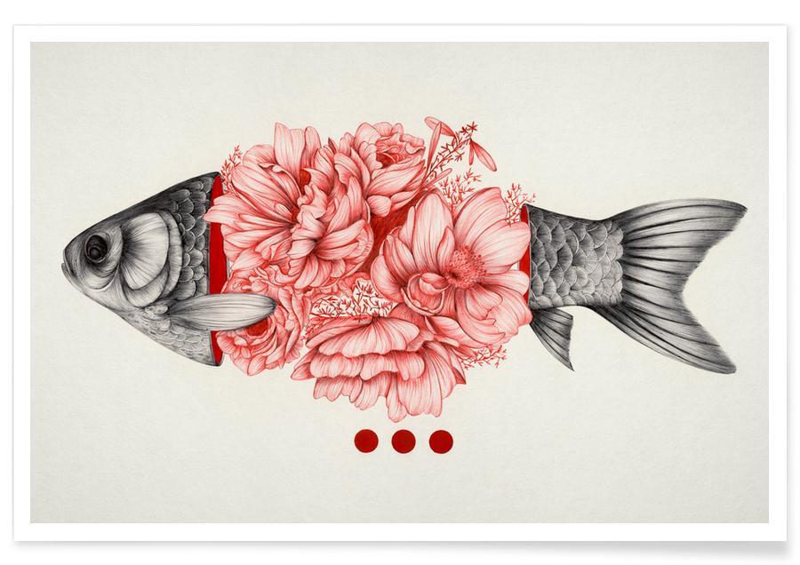 Vissen, To Bloom Not Bleed 1 poster