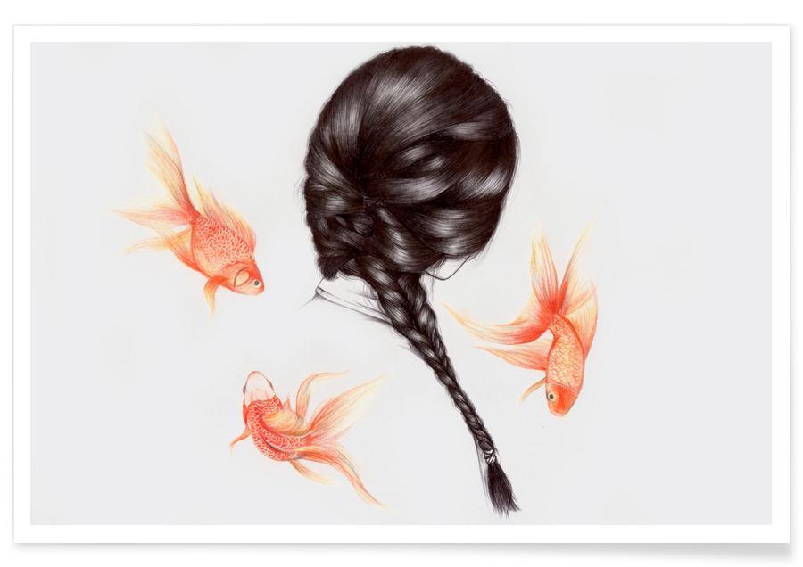 Fish Hair 1 poster
