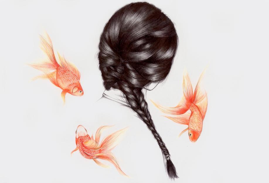 Fish Hair 1 -Alubild